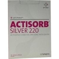 ACTISORB 220 SILVER 9.5x6.5cm steril, 10 ST, Emra-Med Arzneimittel GmbH