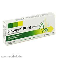 BUSCOPAN Dragees, 20 ST, MTK-Pharma Vertriebs-GmbH