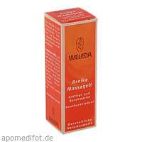 WELEDA Arnika-Massageöl, 10 ML, Weleda AG