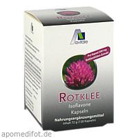 Rotklee Kapseln 500mg, 120 ST, Avitale GmbH