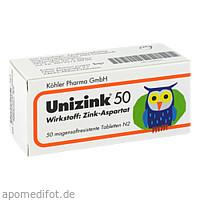 UNIZINK 50, 50 ST, Köhler Pharma GmbH