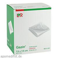 Gazin Kompresse 7.5x7.5cm 8fach steril, 25X2 ST, Lohmann & Rauscher GmbH & Co. KG
