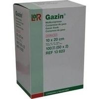 Gazin Kompresse 10x20cm 8fach steril, 50X2 ST, Lohmann & Rauscher GmbH & Co. KG