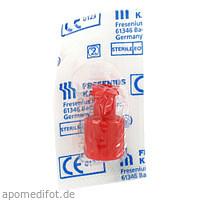 Kombi-Stopfen rot Luer Lock, 1 ST, Fresenius Kabi Deutschland GmbH