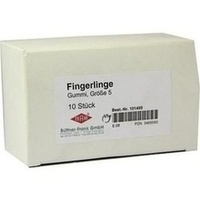 FINGERLING FRA GUMMI GR5, 10 ST, Büttner-Frank GmbH