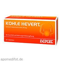 KOHLE HEVERT, 50 ST, Hevert Arzneimittel GmbH & Co. KG
