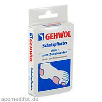 GEHWOL SCHUTZPFLASTER DICK, 4 ST, Eduard Gerlach GmbH