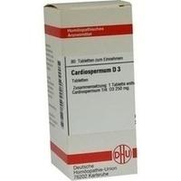 CARDIOSPERMUM D 3, 80 ST, Dhu-Arzneimittel GmbH & Co. KG