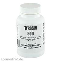 Tyrosin 500, 60 ST, Eder Health Nutrition