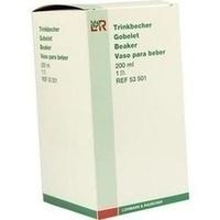 TRINKBECHER M 2 DECKELN, 1 ST, Lohmann & Rauscher GmbH & Co. KG