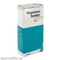 MAGNESIUM SANDOZ forte Brausetabletten, 40 Stück, HEXAL AG