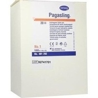 PAGASLING UNST HASELN GR1, 1000 ST, Paul Hartmann AG