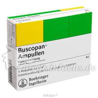 BUSCOPAN, 5X1 ML, Sanofi-Aventis Deutschland GmbH GB Selbstmedikation /Consumer-Care