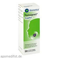 TONSIPRET TROPFEN, 50 ML, Bionorica Se