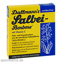 DALLMANNS SALBEIBONBONS zuckerfrei, 20 ST, Dallmann's Pharma Candy GmbH