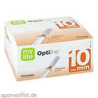 OPTIFINE 10 Kanuelen 0.33x10mm, 100 ST, 1001 Artikel Medical GmbH