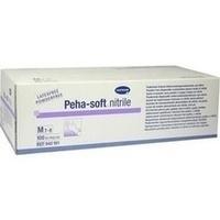 Peha-soft nitrile Untersuch.handsch. M unst.pudfr., 100 ST, Paul Hartmann AG