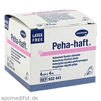 Peha-haft Latexfrei Fixierbinde 4cmx4m, 1 ST, Paul Hartmann AG
