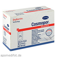 Cosmopor Advance 7.2cmx5cm, 10 ST, Paul Hartmann AG