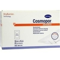 Cosmopor Advance 10x6cm, 25 ST, Paul Hartmann AG