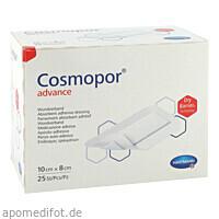 Cosmopor Advance 10x8cm, 25 ST, Paul Hartmann AG
