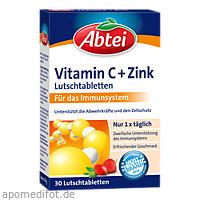 Abtei Vitamin C plus Zink Lutschtabletten, 30 ST, Omega Pharma Deutschland GmbH