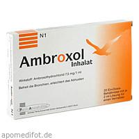 Ambroxol Inhalat, 20X2 ML, Penta Arzneimittel GmbH
