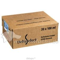 Isotonische NaCl 0.9% DELTAMEDICA Glasinf., 20X100 ML, DELTAMEDICA GmbH