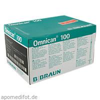 OMNICAN 100 1.0ML/100 I.U., 100 ST, B. Braun Melsungen AG