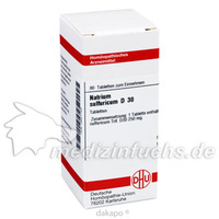 NATRIUM SULF D30, 80 ST, Dhu-Arzneimittel GmbH & Co. KG
