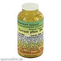 Ferrum phosphoricum D 6 Schüssler Nr.3 handverrieb, 80 ST, Anthroposan Homöopharm Produktionsgesellschaft mbH