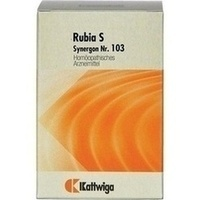 Synergon Kompl Rubia S Nr.103, 200 ST, Kattwiga Arzneimittel GmbH