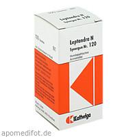 Synergon Kompl Leptandra N Nr.120, 100 ST, Kattwiga Arzneimittel GmbH