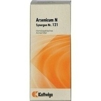 Synergon Kompl Arsenicum N Nr.121, 50 ML, Kattwiga Arzneimittel GmbH