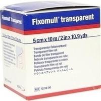 Fixomull transparent 10mx5cm, 1 ST, Bsn Medical GmbH