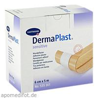 DermaPlast sensitive 6cmx5m, 1 ST, Paul Hartmann AG