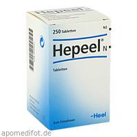 Hepeel N, 250 ST, Biologische Heilmittel Heel GmbH