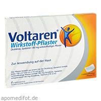 VOLTAREN Wirkstoff Pflaster, 5 ST, GlaxoSmithKline Consumer Healthcare
