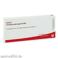 TONSILLA PHARYNGEA GL D 6, 10X1 ML, Wala Heilmittel GmbH