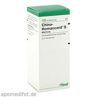 CHINA HOMACCORD S, 100 ML, Biologische Heilmittel Heel GmbH
