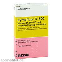 ZYMAFLUOR D 500, 90 ST, Meda Pharma GmbH & Co. KG