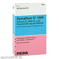 ZYMAFLUOR D 1000, 90 ST, Meda Pharma GmbH & Co. KG
