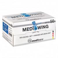 MEDI WING Infusionsset 27 Gx3/4 0,4x19 mm, 1 ST, Diaprax GmbH