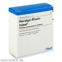 NERALGO-RHEM INJEEL, 10 ST, Biologische Heilmittel Heel GmbH