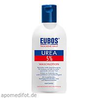 EUBOS Trockene Haut UREA 5% Waschlotion, 200 ML, Dr.Hobein (Nachf.) GmbH