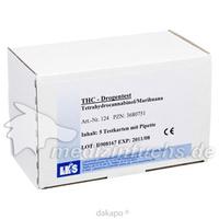 DROGENT THC CARD SIN U LKS, 5 ST, Laboklinika Produktions-Und Vertriebs-Gesellschaft mbH