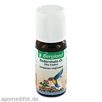 Zedernholz Öl, 10 ML, Bergland-Pharma GmbH & Co. KG