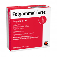 FOLGAMMA FORTE, 10X1 ML, Wörwag Pharma GmbH & Co. KG