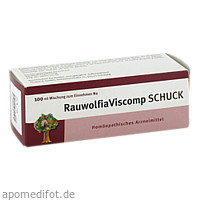 RAUWOLFIAVISCOMP SCHUCK, 100 ML, Schuck GmbH Arzneimittelfabrik