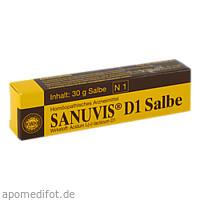 SANUVIS D 1, 30 G, Sanum-Kehlbeck GmbH & Co. KG